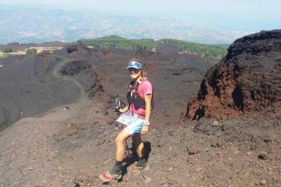 Di corsa in cima all'Etna, impresa della foianese Caterina Corti: 91 km in venti ore