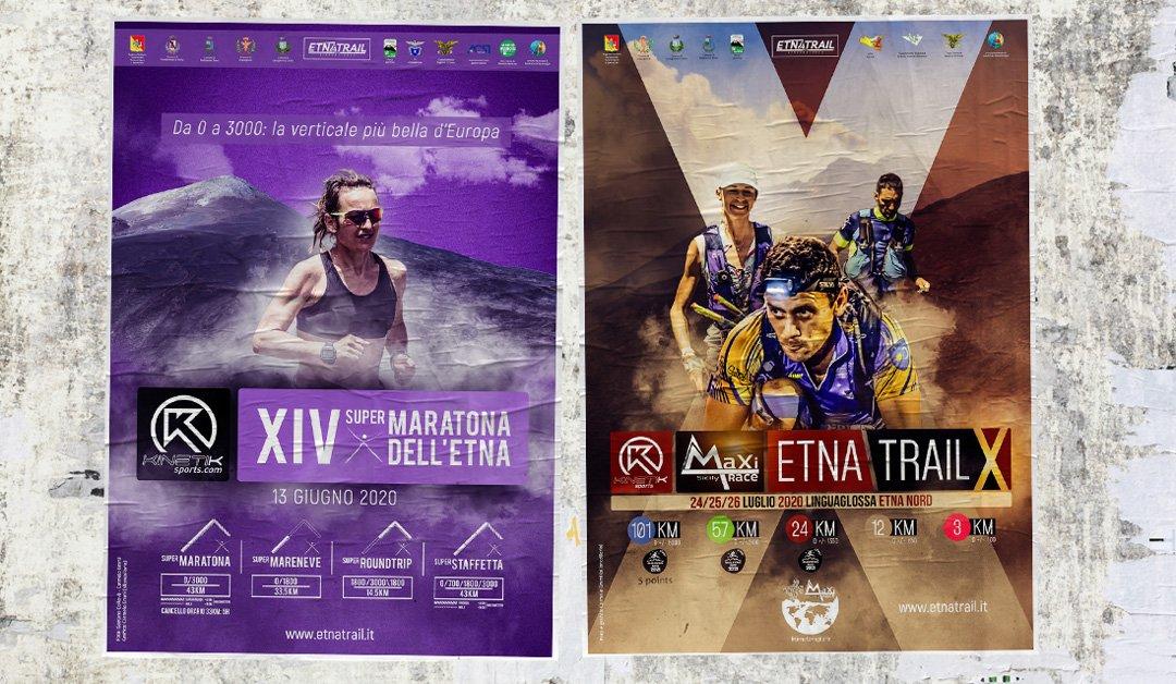 Le prime novità della XIV Supermaratona dell'Etna e di Etna Trail X