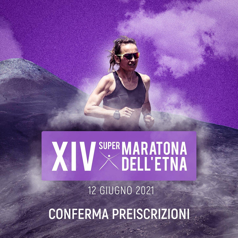 Conferma preiscrizioni XIV Supermaratona dell'Etna